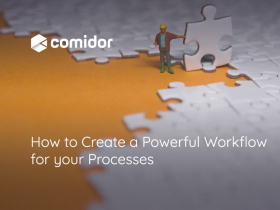 How-to-Create-a-Workflow | Comidor Digital Automation Platform